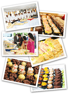 Sponge catering services